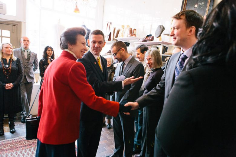 Princess Anne visiting Save The Children