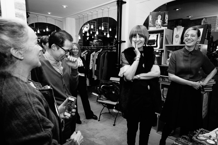 Mary Portas - Shop Girl. Living and Giving Save the Children. Book launch