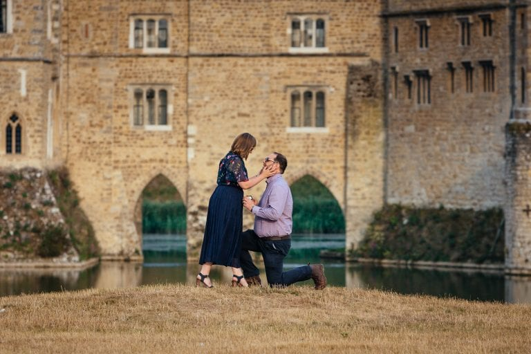 Leeds Castle marriage Proposal
